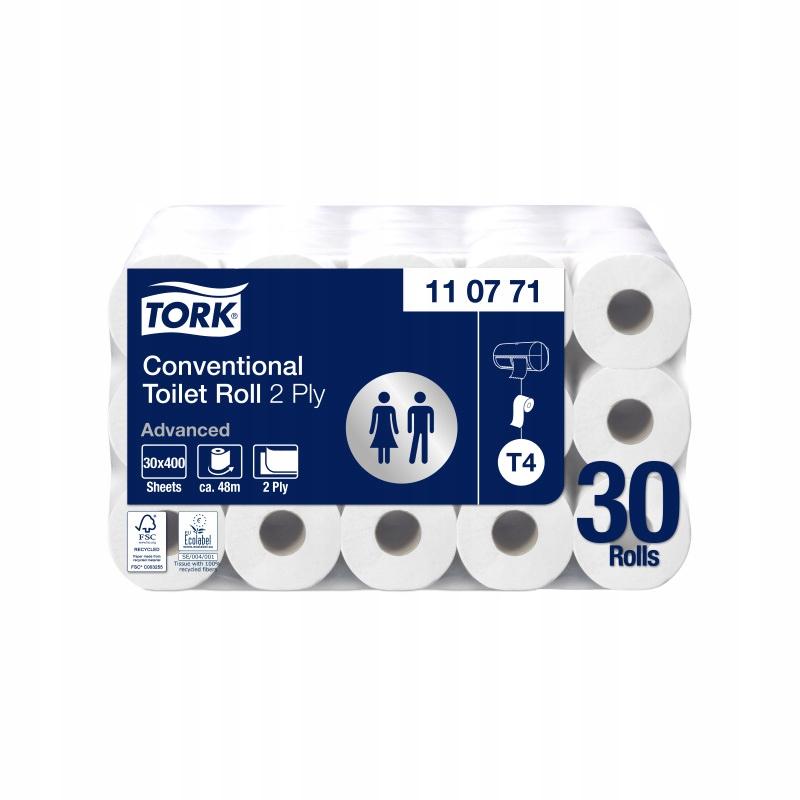 Krútiaci moment 110771 - toaletný Papier 30 rožkov, 2 vrstvy