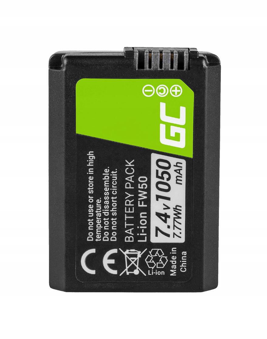 Batéria NP-FW50 pre Sony 74V 1050MAH