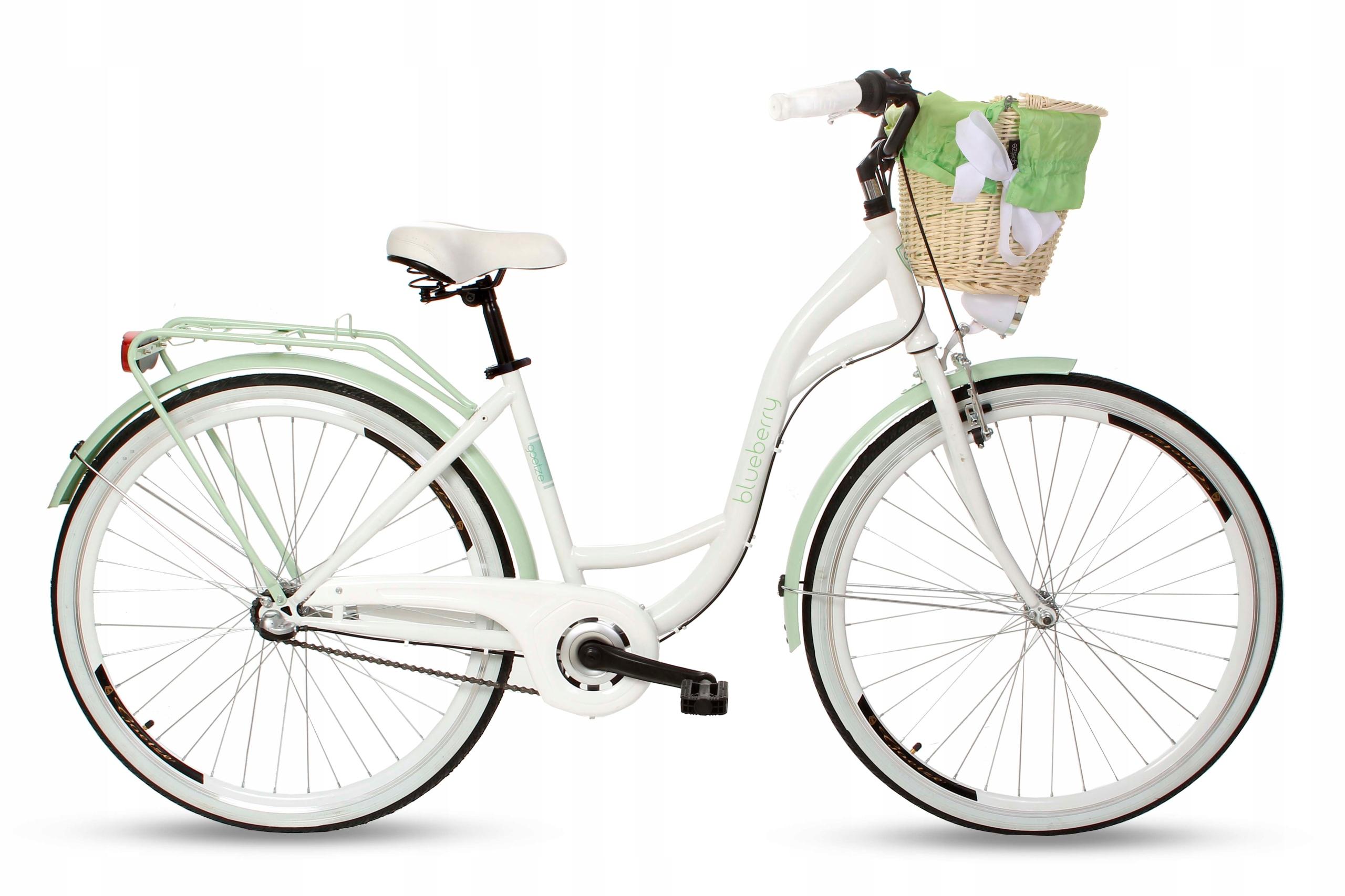 Dámsky mestský bicykel Goetze BLUEBERRY 28 3b košík!