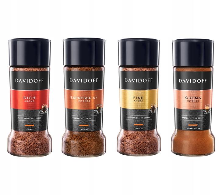 Davidoff Creme / 57 / Intense / Насыщенный растворимый кофе