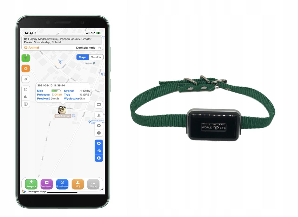 Отслеживание животных GPS X3 - DOG KOTA PLUG & PLAY