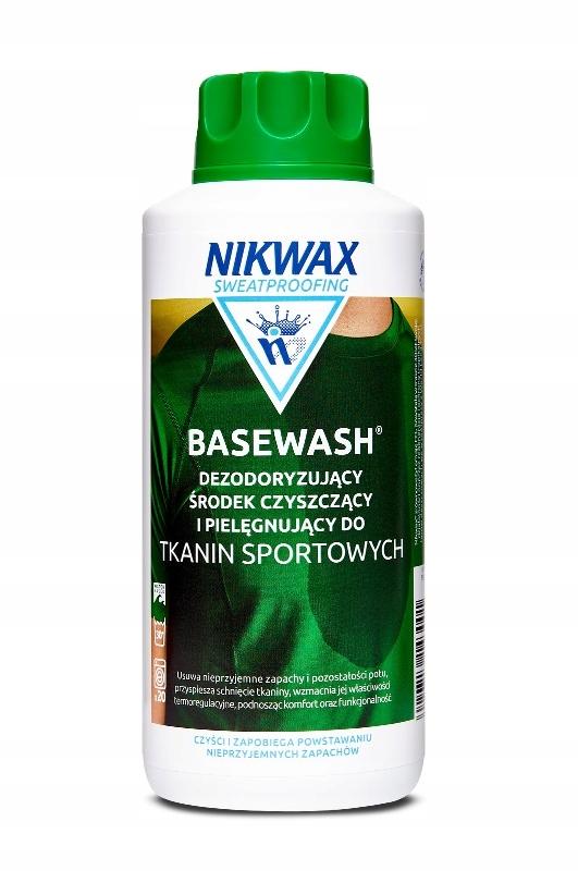 Nikwax BaseWash 1л для стирки термоактивной одежды