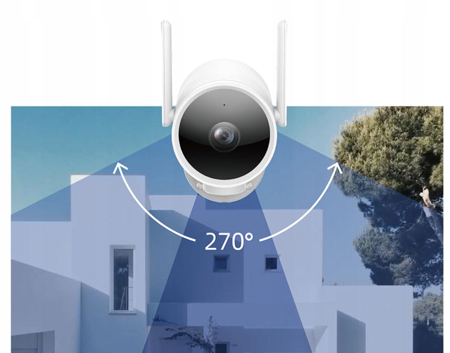 IMILAB EC3 Kamera IP ZEWNĘTRZNA obrotowa 3MPIX 2K Typ kamery kolorowa na podczerwień