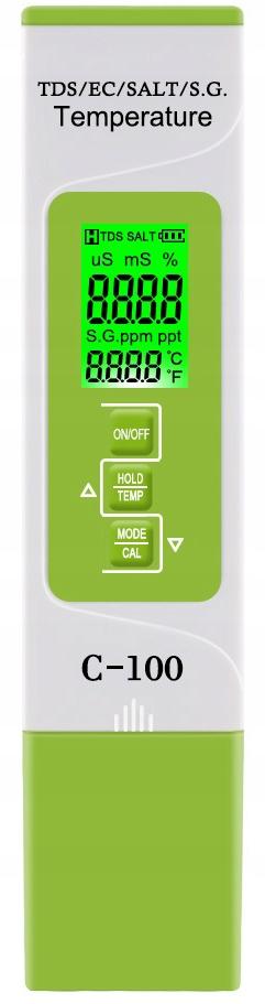 TDS EC измеритель жесткости воды гидропоника