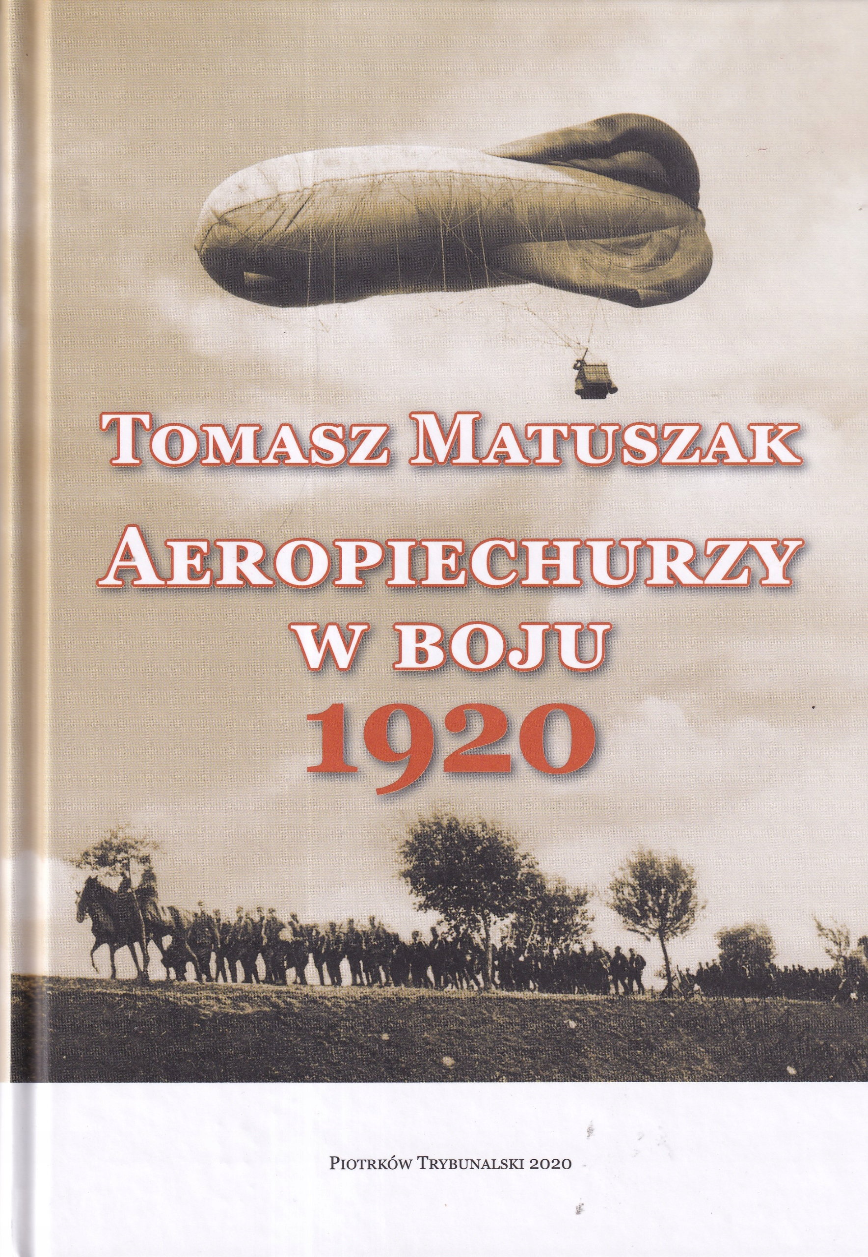 Летчики в боях на воздушном шаре армии 1920 г.