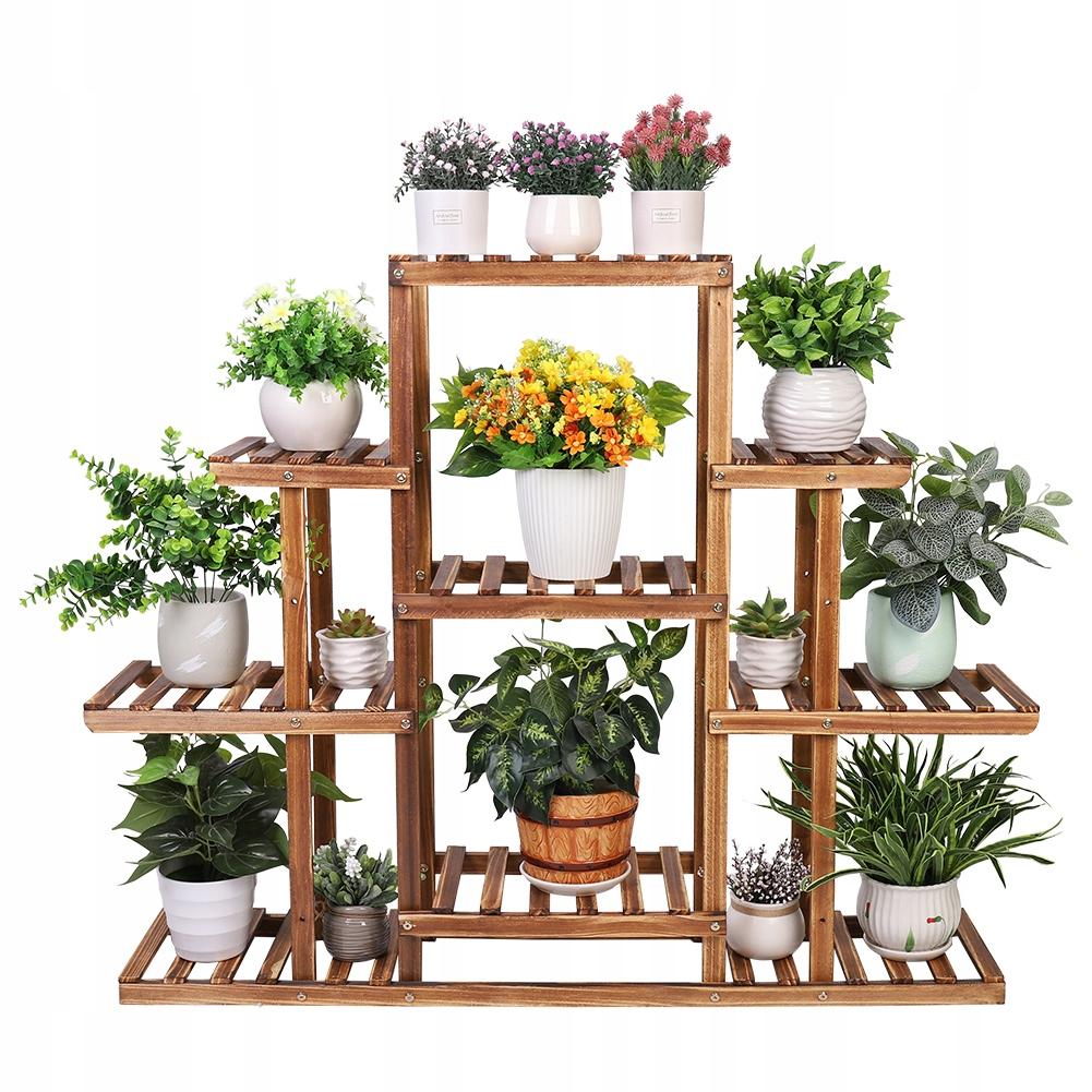 9 слоев клумбы деревянная подставка для цветов 97см