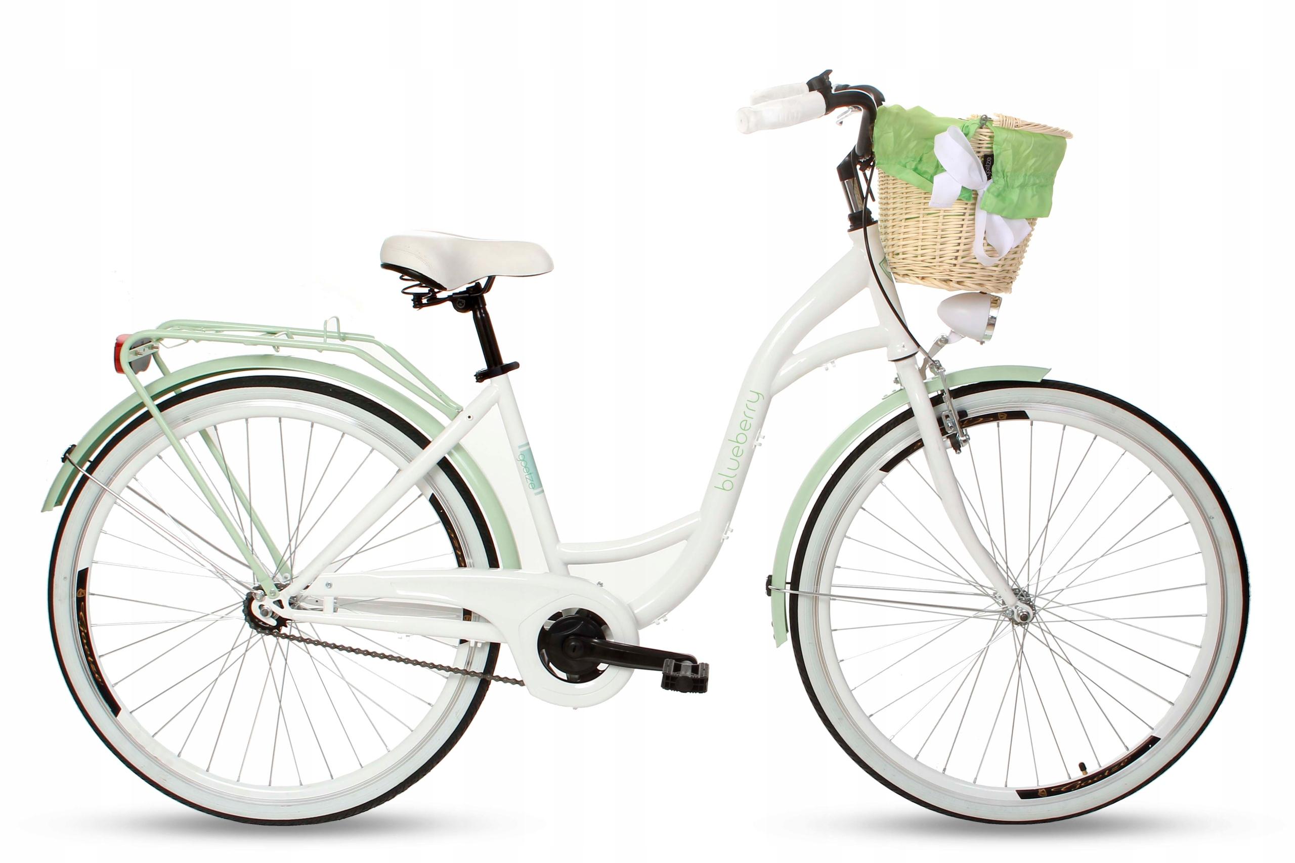 Dámsky mestský bicykel Goetze BLUEBERRY 28 košík!  Veľkosť rámu 18 palcov