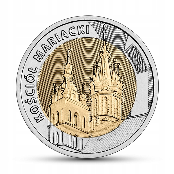 Item 5 zloty Discover Poland - the Church of St. Maria 2020