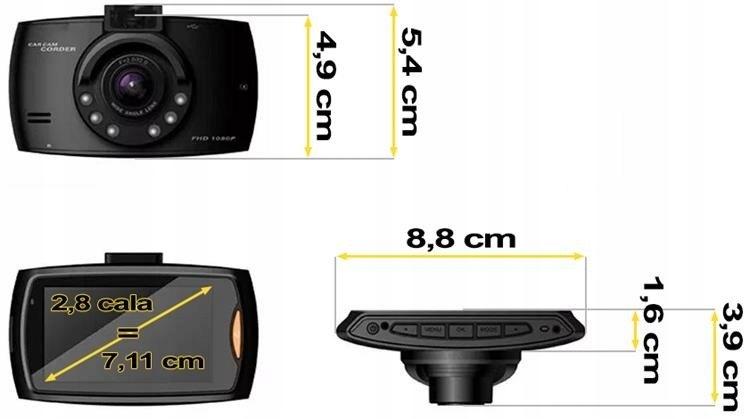 автомобильная камера видеорегистратор ИК-светодиод