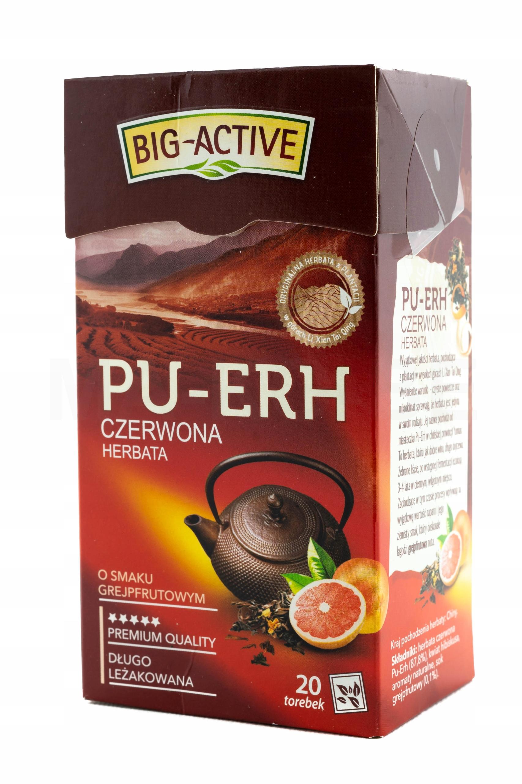 Big Active - красный - грейпфрут пуэр 20TB
