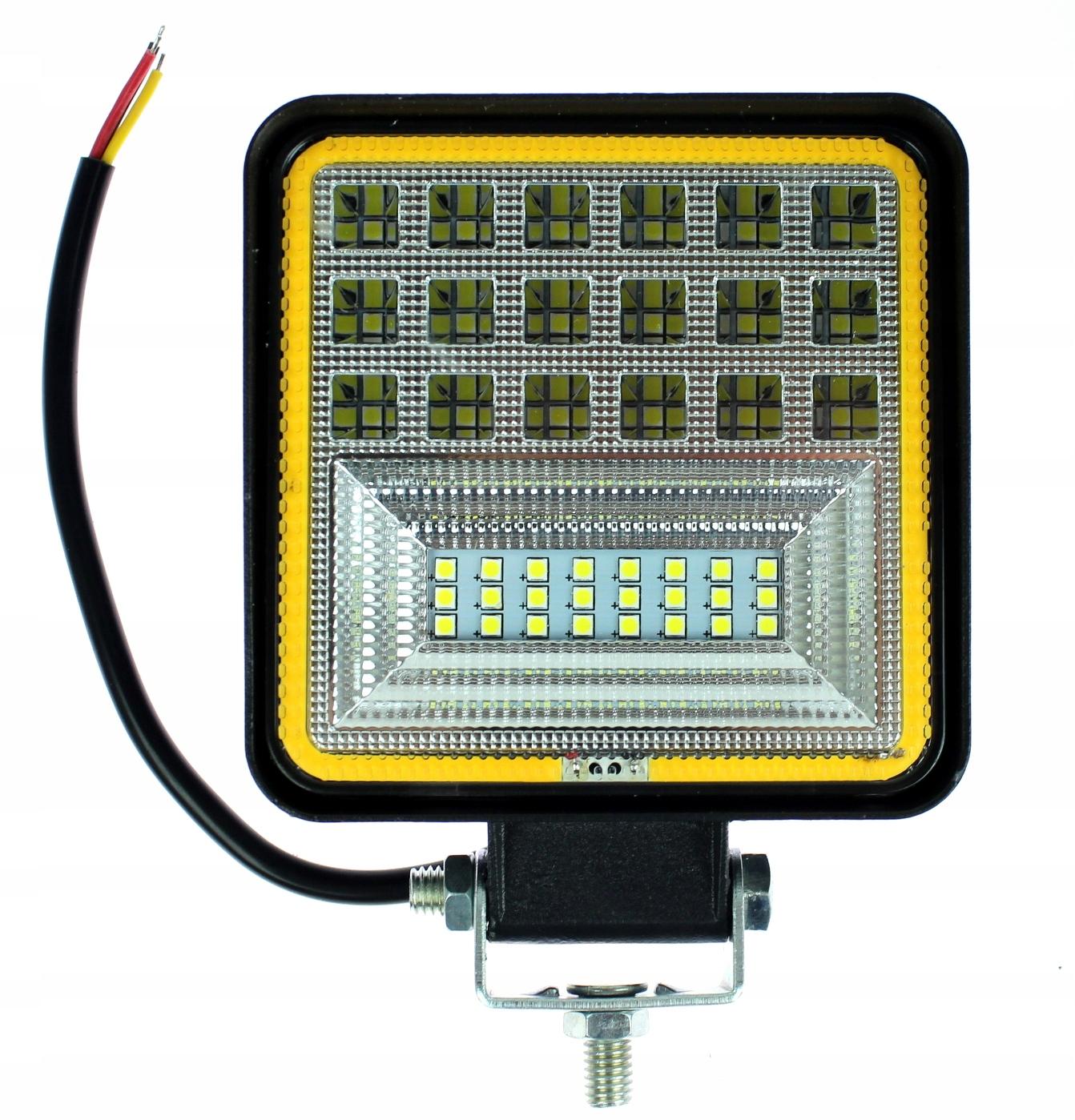лампа рабочая 42 led ledowa 126w 12-24v мега мощность