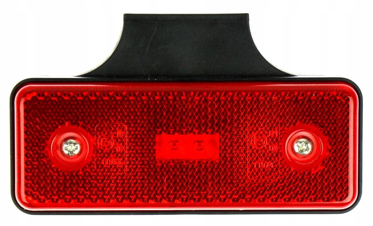 obrysÓwka диодов led лампа габаритный красная