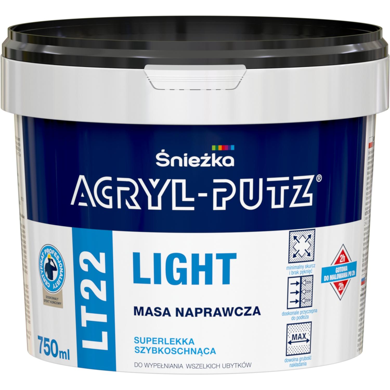 ACRYL-PUTZ LT 22 LIGHT ремонтная масса 750 мл