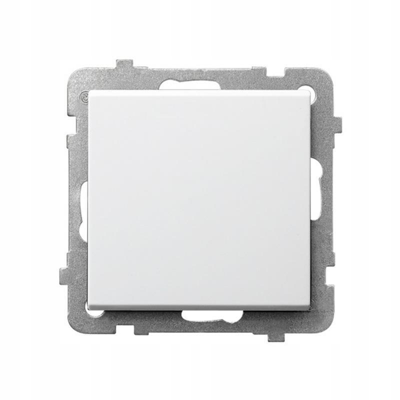Ospel Sonata белый - разъем одинарный ŁP-1R / m / 00