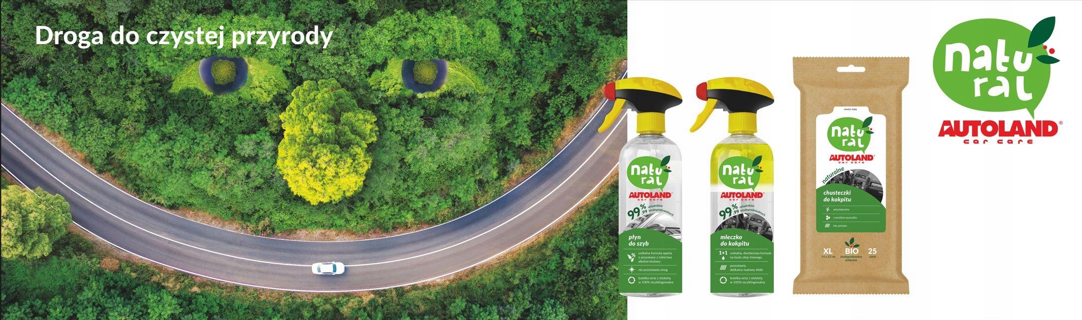 Autoland NATURAL - молочко для кабины 500ml bio EAN 5900304012196