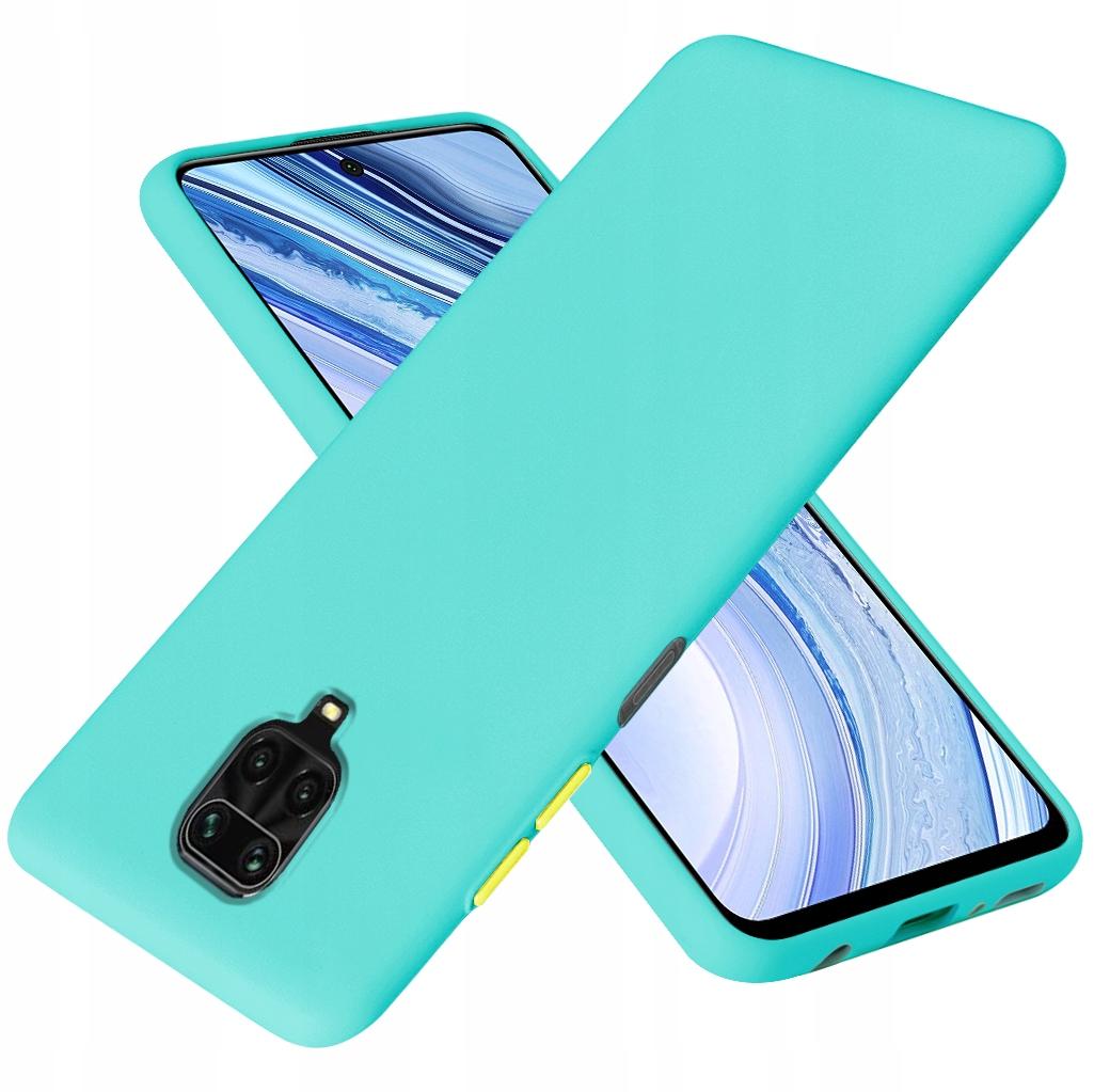 Etui do Redmi Note 9S 9 PRO Case Silikon + Szkło