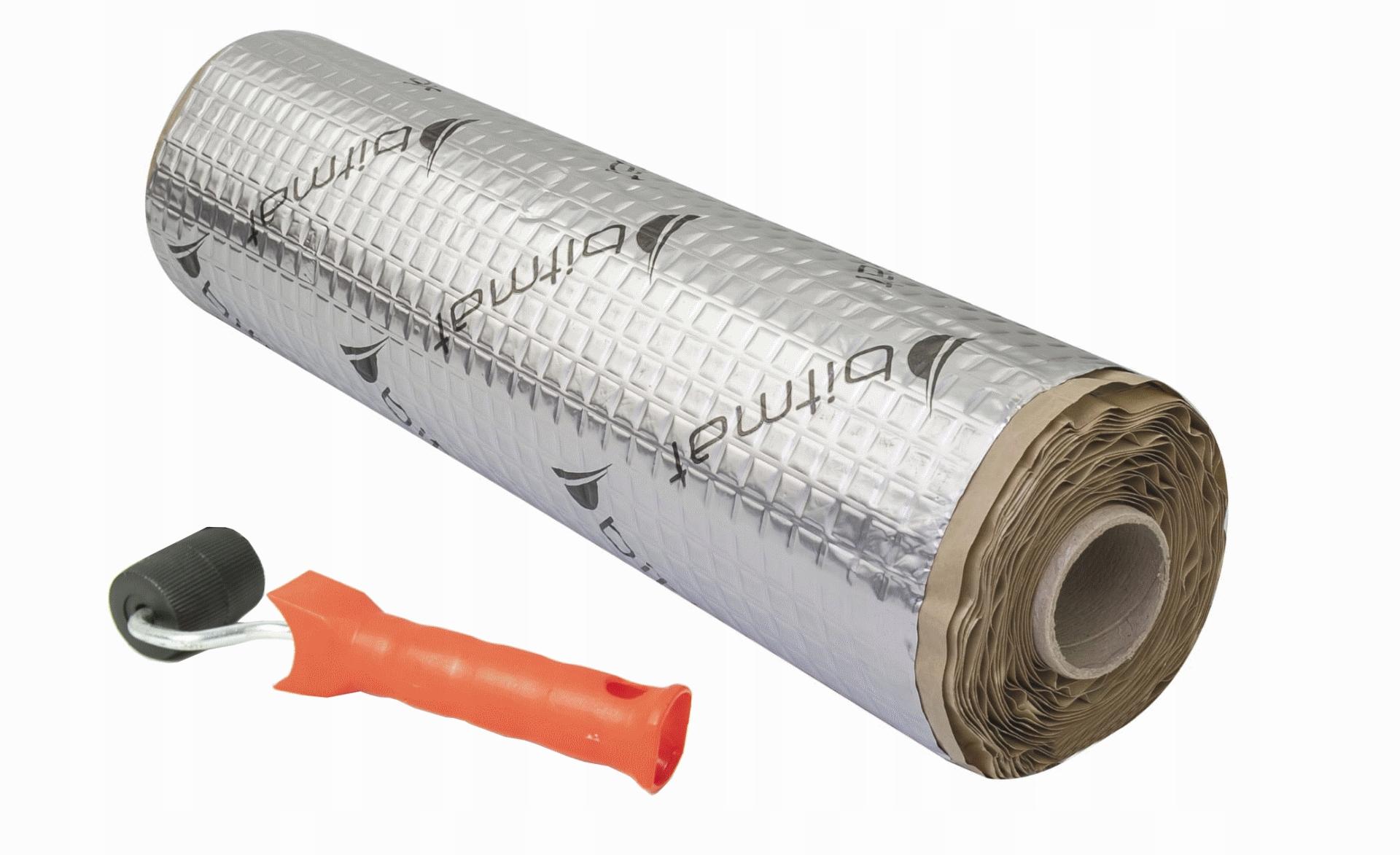 коврик wygŁuszajĄca butylowa битумная alubutyl 2m2