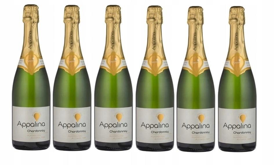 Wino BEZALKOHOLOWE Niemiecy Appalina zestaw 6 win