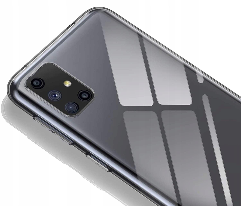 Etui do Samsung Galaxy M51 Clear Case + Szkło 9H Przeznaczenie Samsung