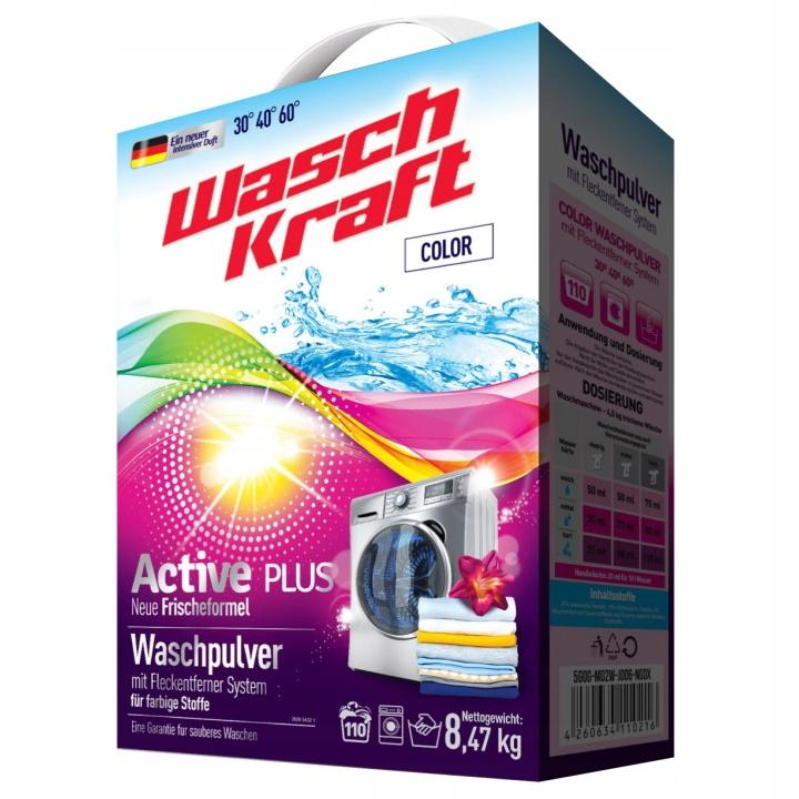 Стиральный порошок WaschKraft Color 8,47кг (110пр)