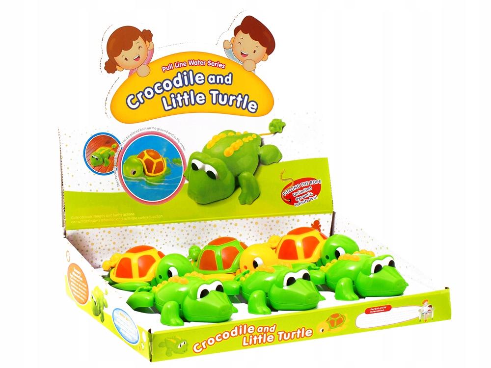 Wesoła zabawka do kąpieli ŻÓŁW, KROKODYL ZA0592 Certyfikaty, opinie, atesty CE EN 71