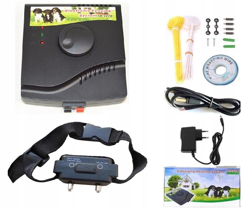Elektryczny pastuch System dla Psów Ogrodzenie227B Marka Regmag