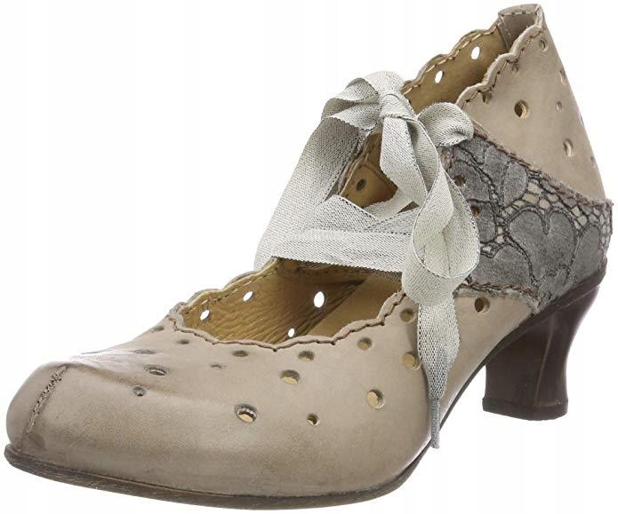 Rovers obuv, kožený retro čipky luk r39