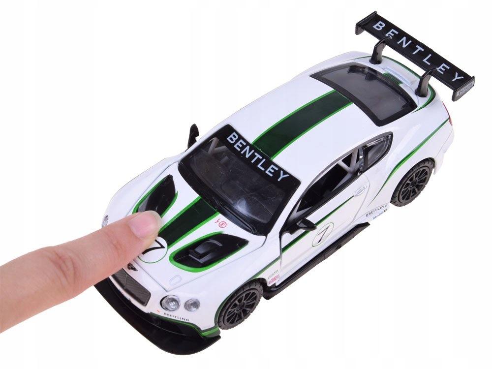Sportowe auto Bentley 1:32 światło dźwięk ZA3142 Materiał Guma Metal Plastik