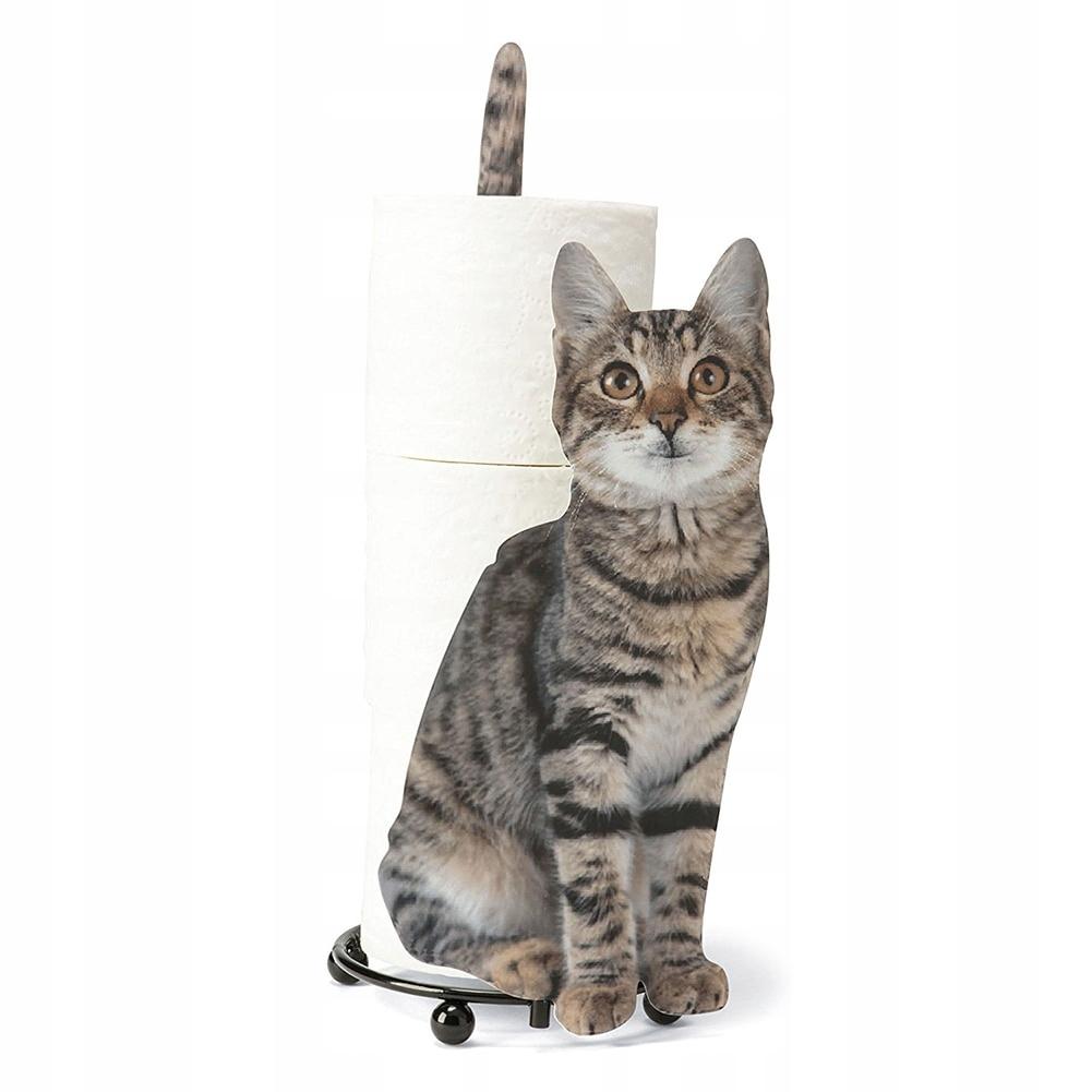 ДЕРЖАТЕЛЬ ПОДСТАВКА ДЛЯ ТУАЛЕТНОЙ БУМАГИ CAT DECOR
