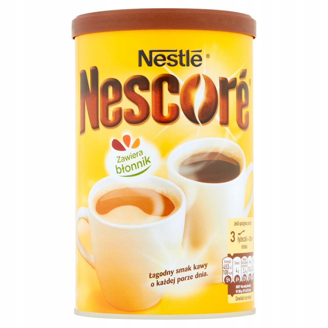 Купить Nescoré Кофе с oligofruktozą и лошадей 260 г на Otpravka - цены и фото - доставка из Польши и стран Европы в Украину.