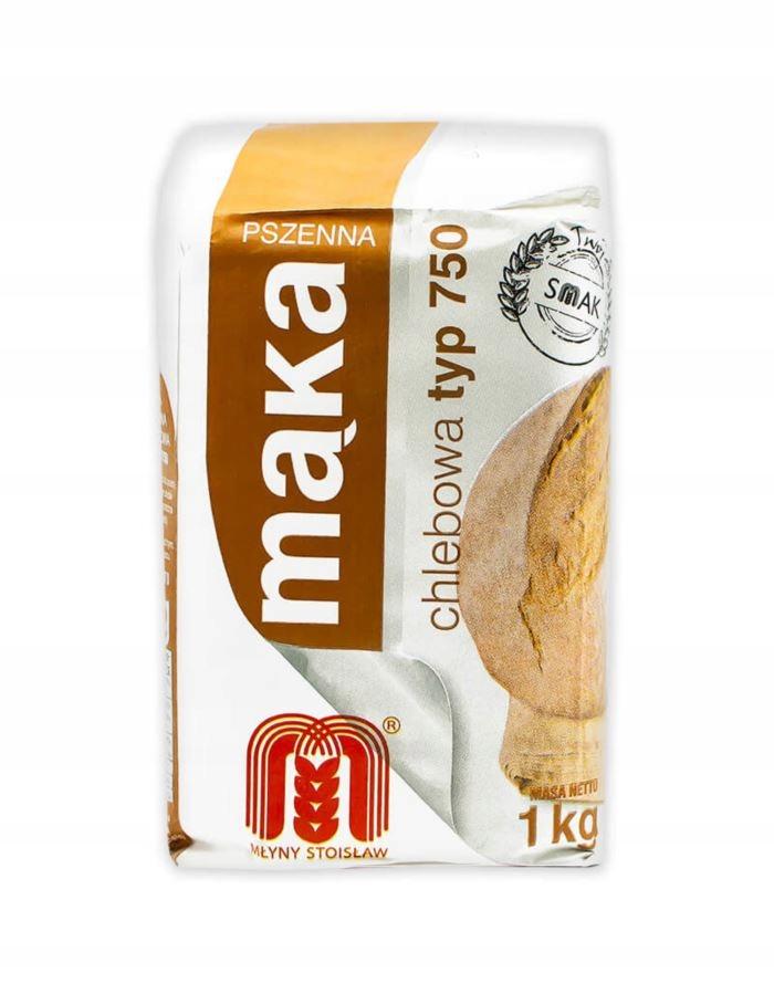 Mąka pszenna CHLEBOWA domowy chleb typ 720 1 kg