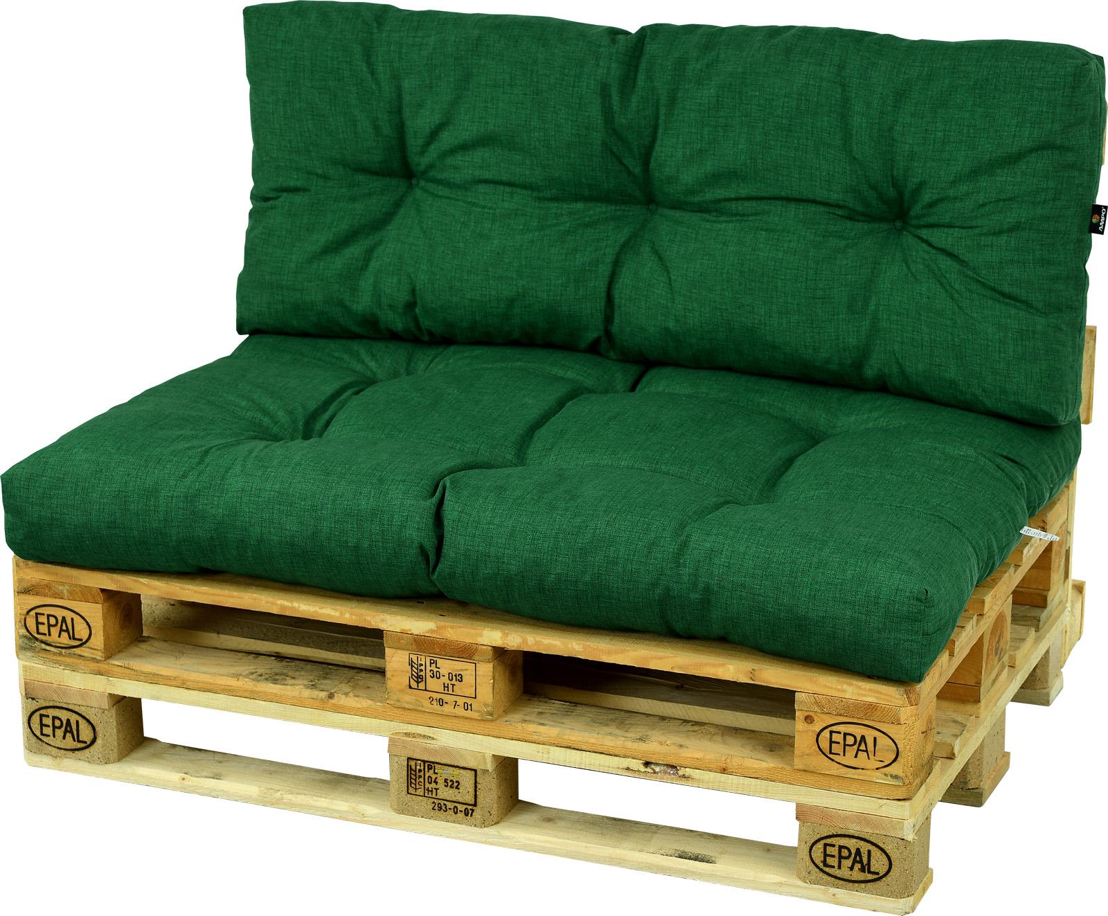 Бескид II, набор подушек для палитры лесной зелени
