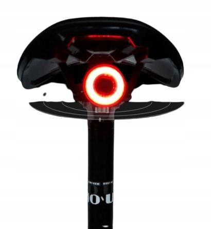 LAMPKA ROWEROWA TYLNA LED USB CZUJNIK STOP MX2 Kod producenta MX2