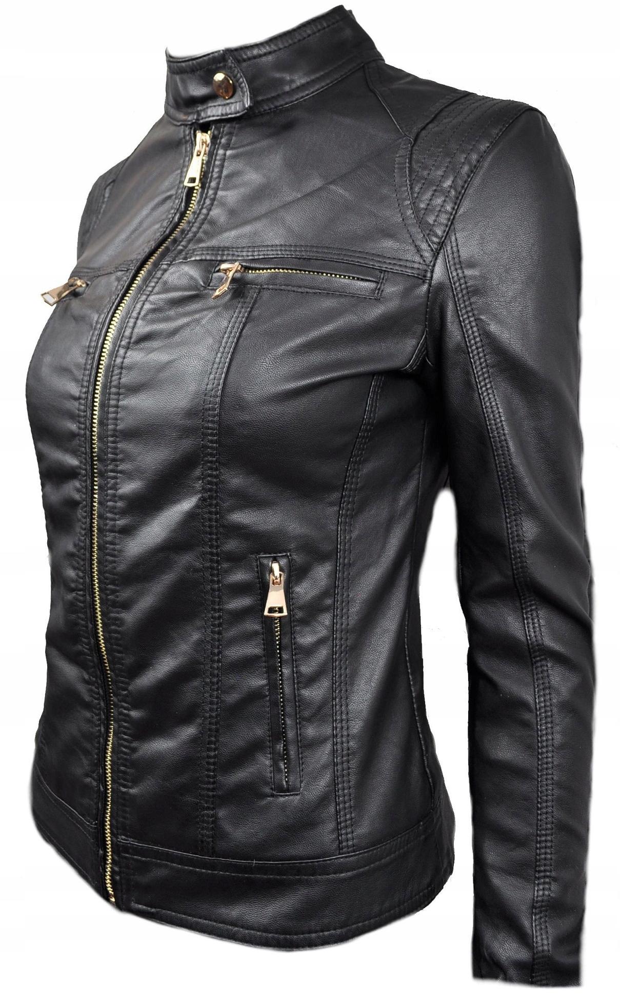 Купить Куртка кожаная весенняя женская CHANELKA 076 на Otpravka - цены и фото - доставка из Польши и стран Европы в Украину.