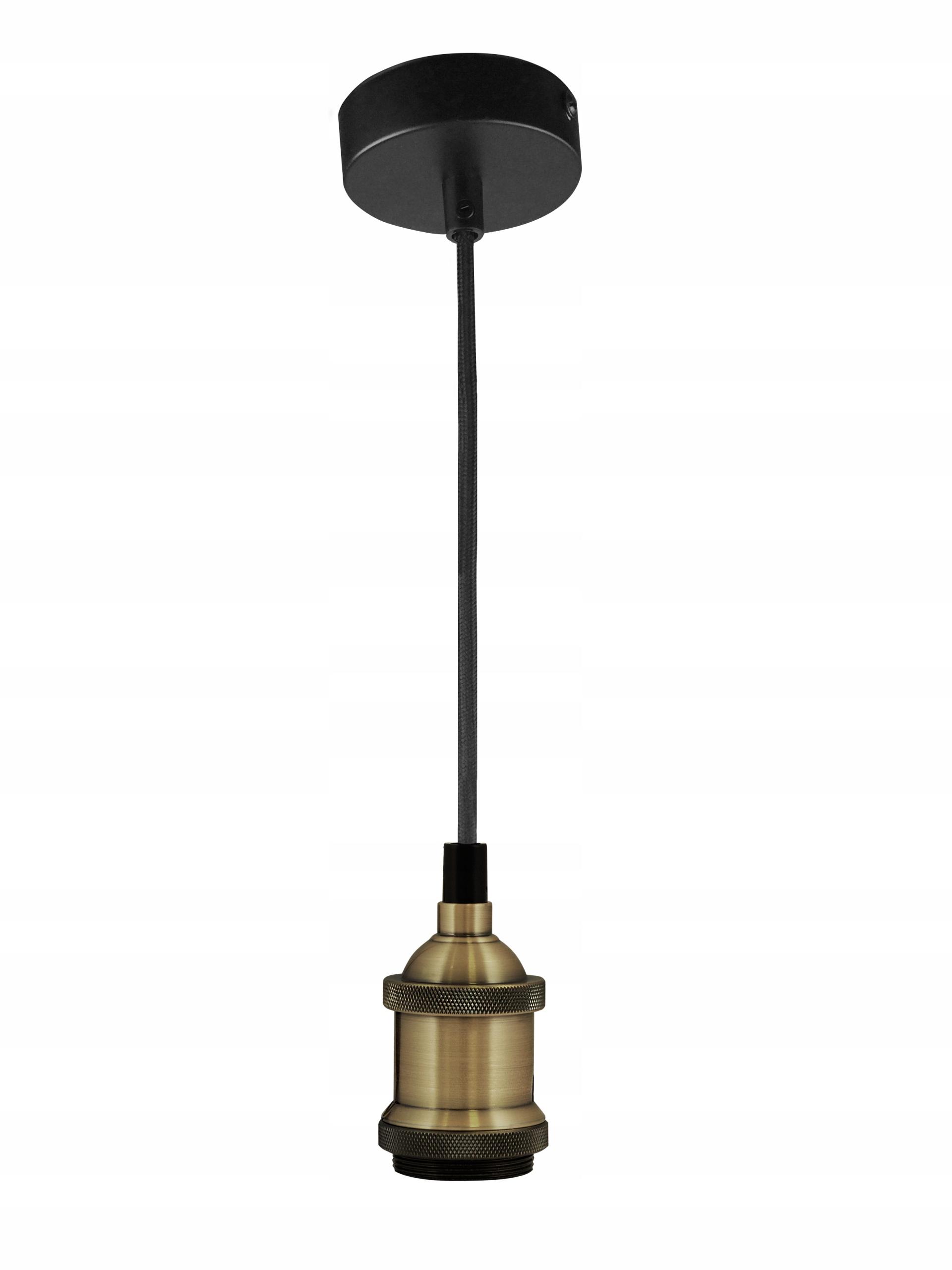 Závesné závesné svietidlo pre žiarovku E27 Patina Retro