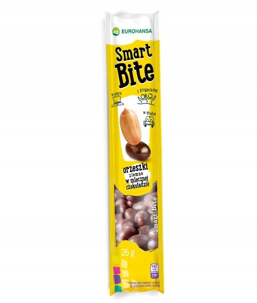 SMART BITA ORZESZKI w czekoladzie bez glutenu 30g