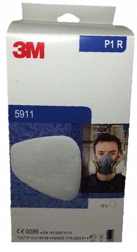 Пылевой фильтр 3М 5911 P1 упаковка 30 штук