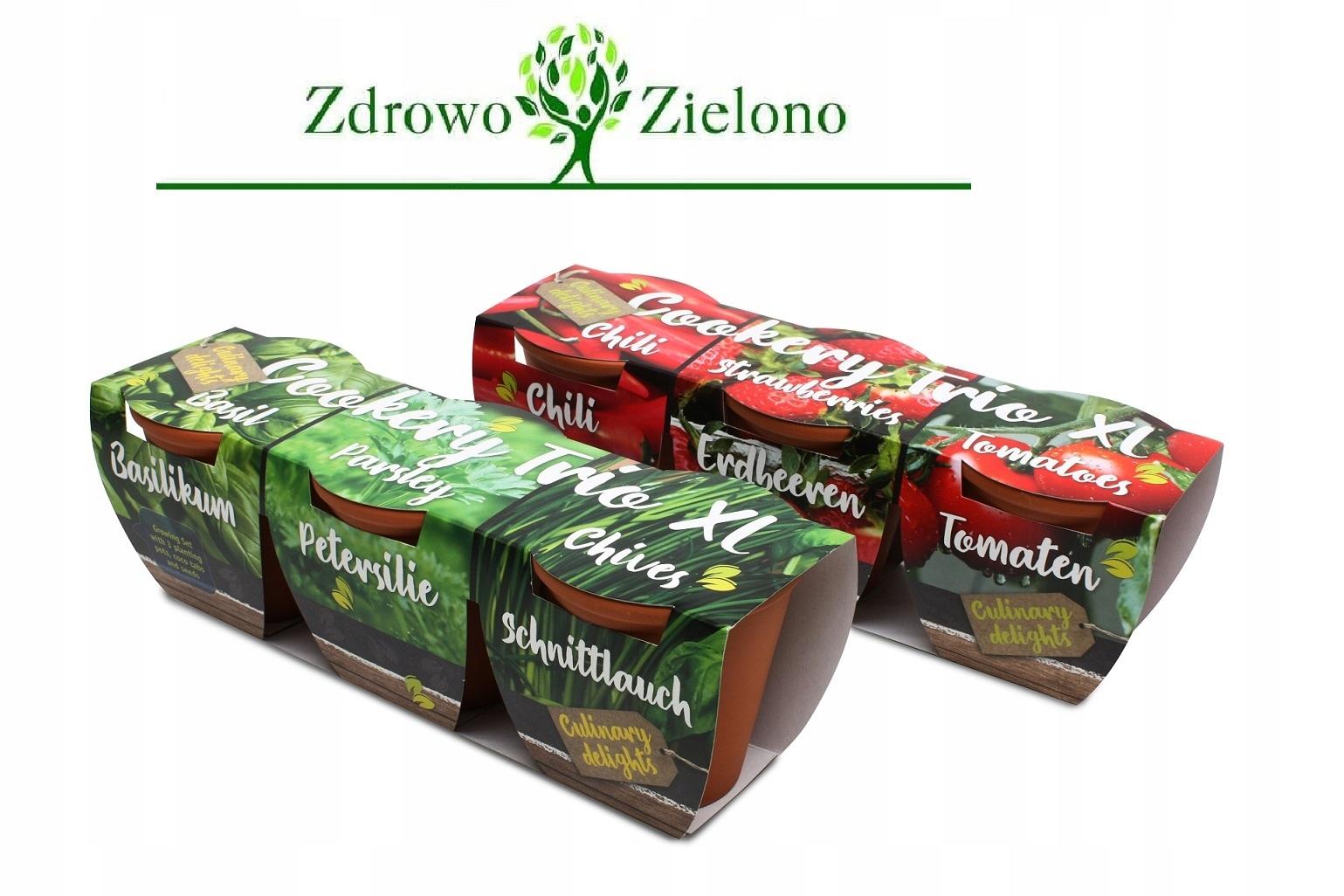 Набор для выращивания в горшках GREEN HERBS XL + БЕСПЛАТНО