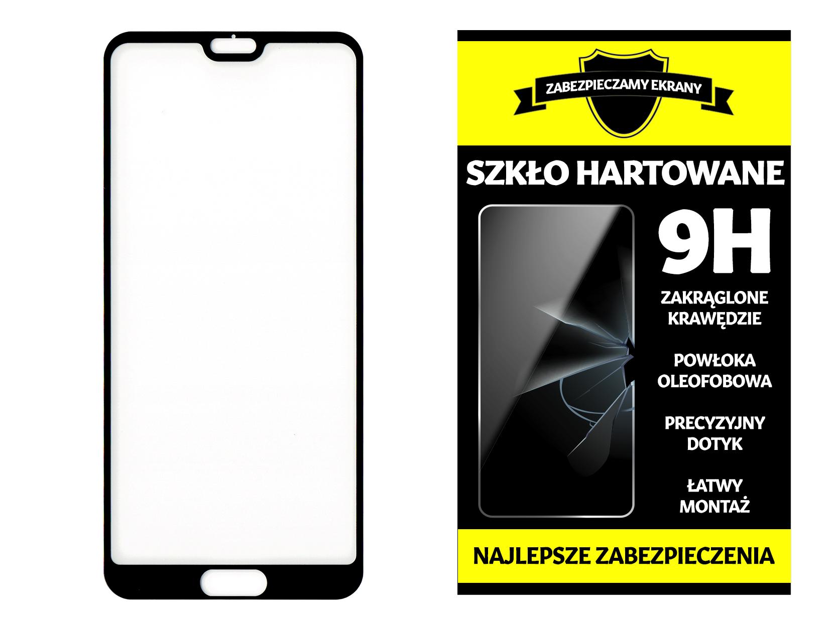 Szkło Hartowane na Cały Ekran 5D do Huawei P20 Pro