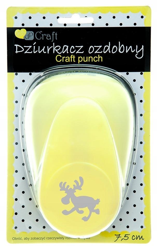 Купить Punch декоративная Dp-Craft 7,5 см ЛОС на Otpravka - цены и фото - доставка из Польши и стран Европы в Украину.