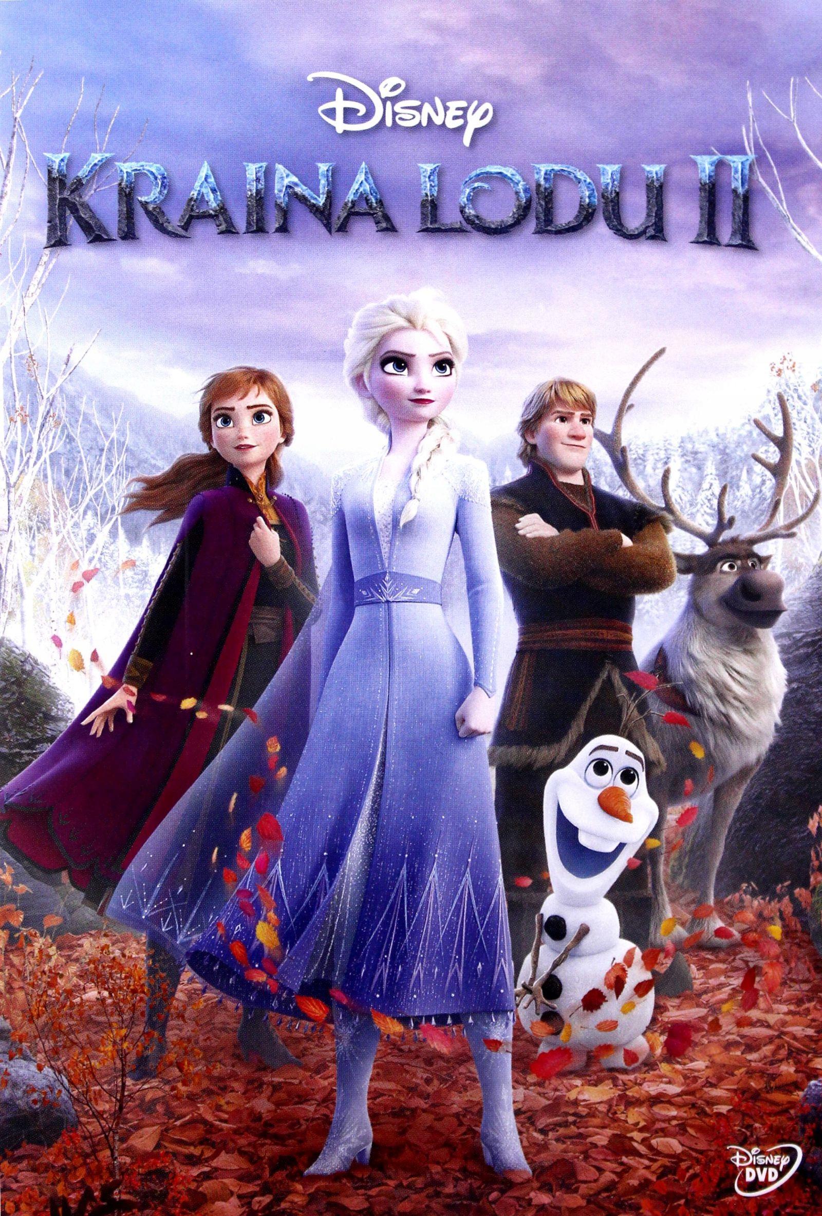 KRAINA LODU 2 DISNEY  DVD NOWOŚĆ 01 04 2020
