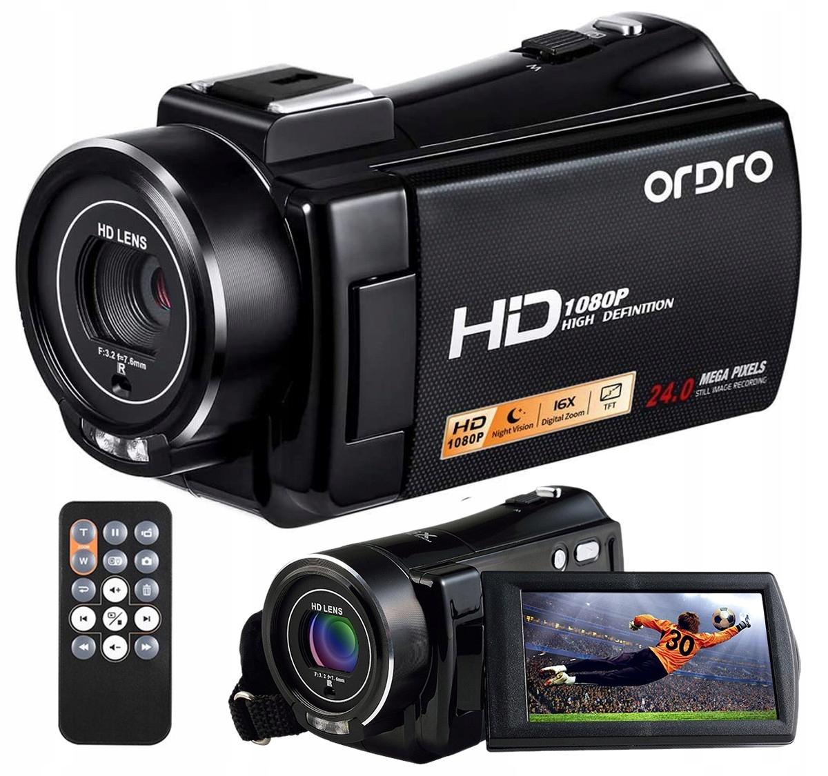 Kamera Cyfrowa Ordro HDV-V7 Fhd 24mpx 16x *GTU6*