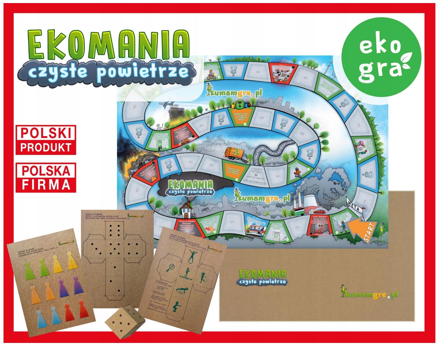 gra kopertowa o smogu - EKOMANIA czyste powietrze