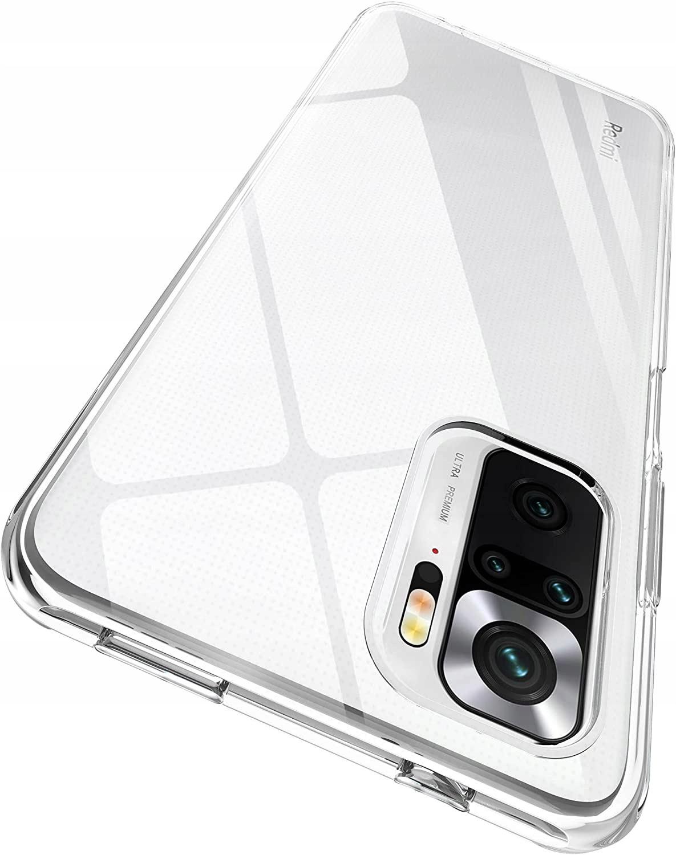 Etui Clear Case + Szkło 9H do Xiaomi Redmi Note 10