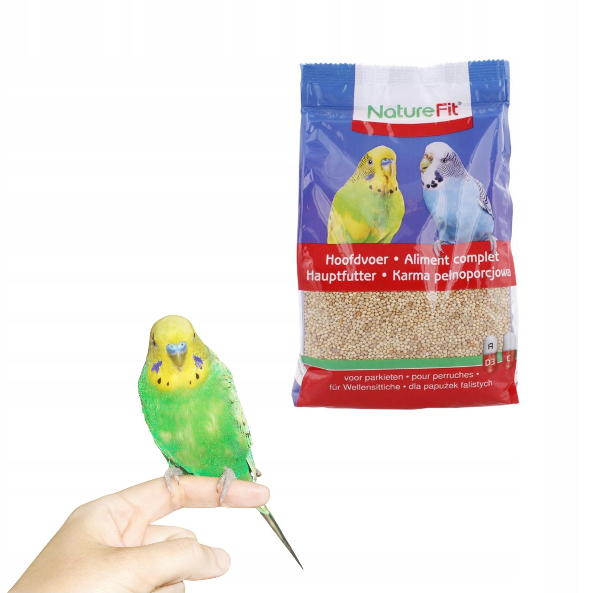 Корм для волнистых попугаев волнистый попугай 800г