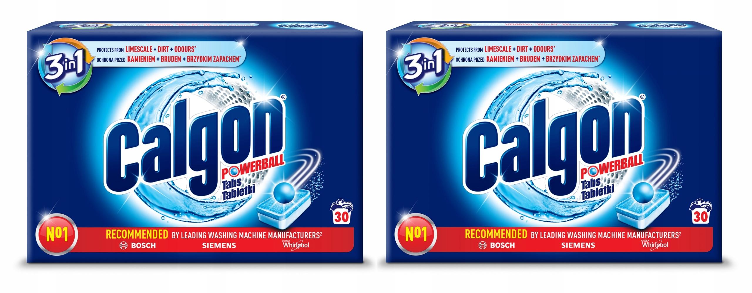 Calgon 3 в 1 Таблетки для удаления накипи для Стиральной машины 60 шт