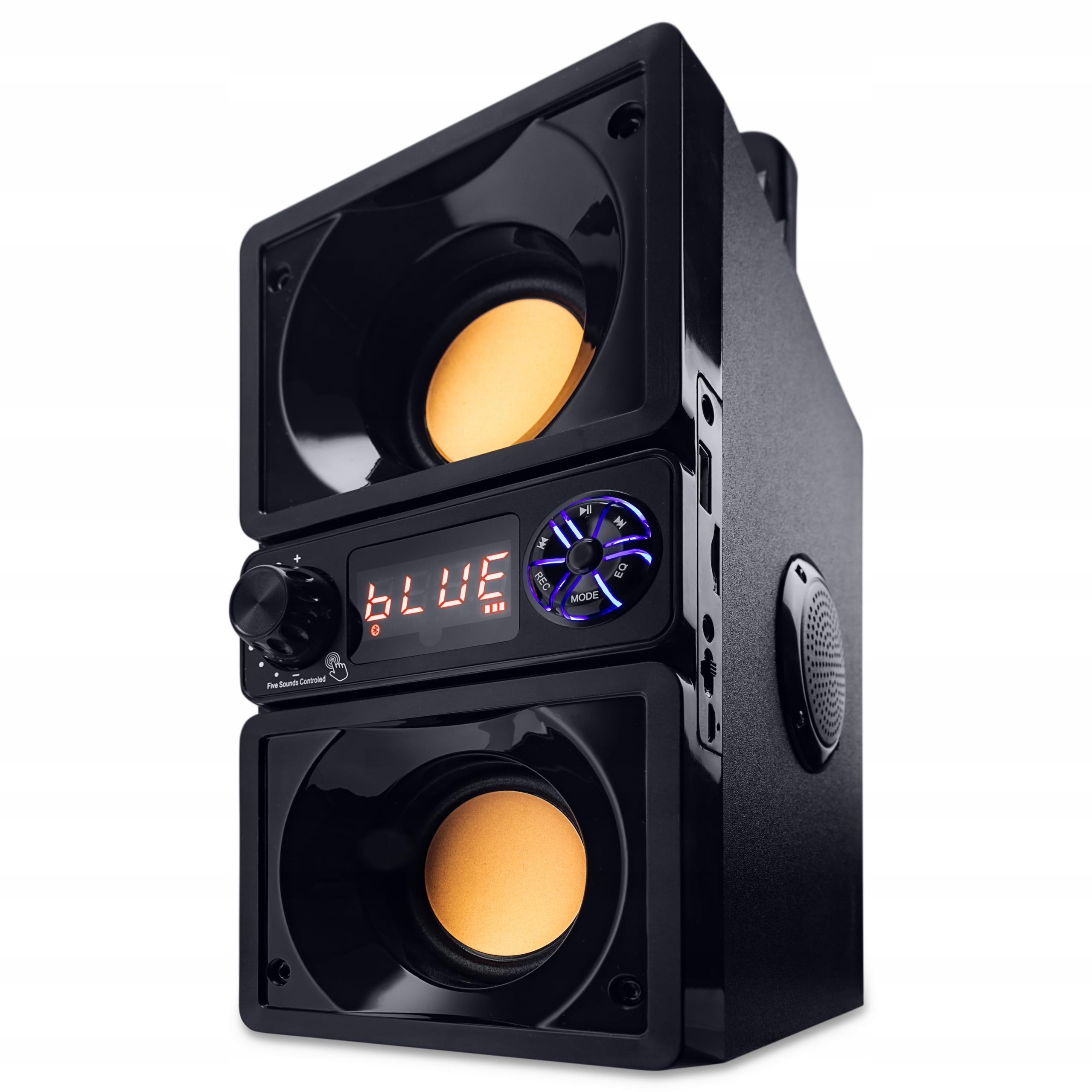 RADIO FM PRZENOŚNE Z ODTWARZACZ MP3 USB SD BT 650W