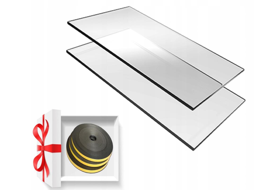 Стекло для камина SELF-CLEANING стекло 59x38