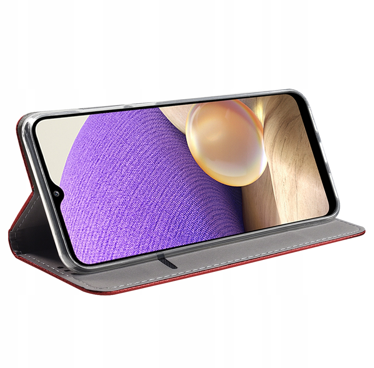 Etui MAGNET do Samsung Galaxy A32 4G Smart + Szkło Producent KrainaGSM