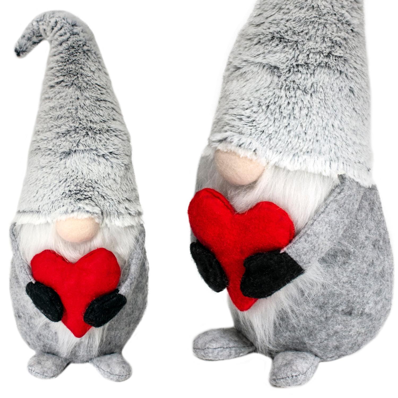 Спрайт ко Дню святого Валентина 48см БОЛЬШОЙ серый с сердечком